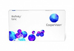 Cooper Vision Biofinity  for Astigmatism